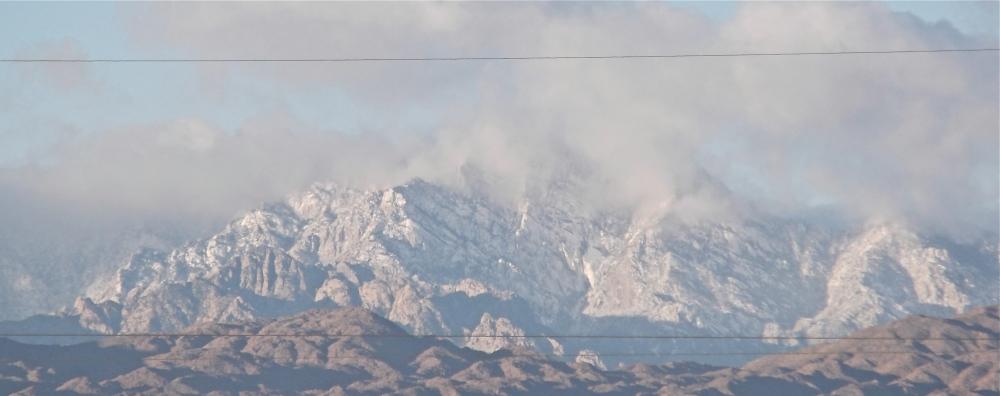 Snow In Baja Mexico (1/3)