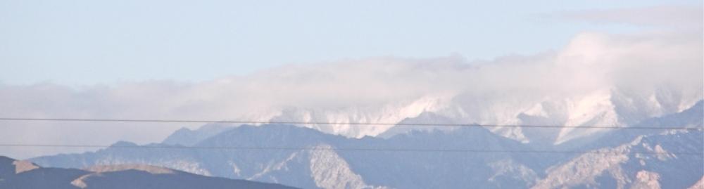 Snow In Baja Mexico (2/3)