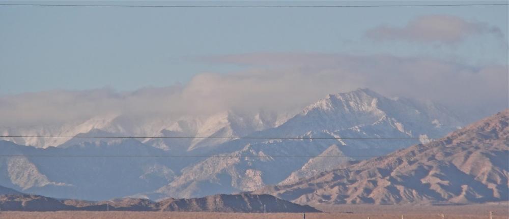 Snow In Baja Mexico (3/3)