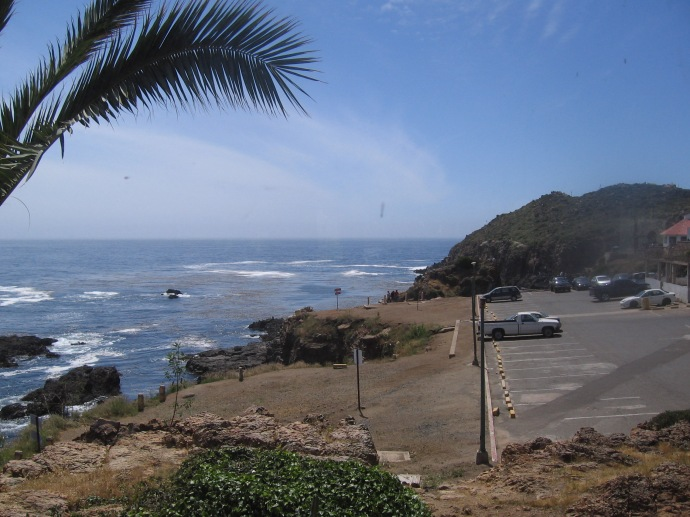 Another view of the coast near Punta Banda