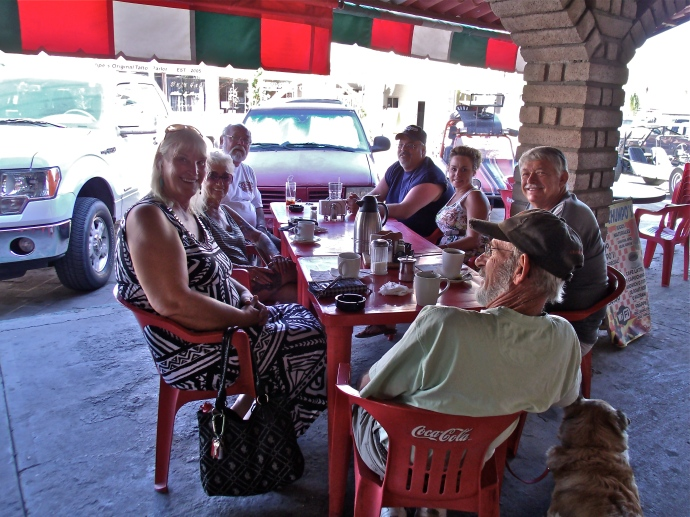 Memorial Day Breakfast @ Chumpos Rest. San Felipe MX