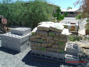 Cement and more blocks