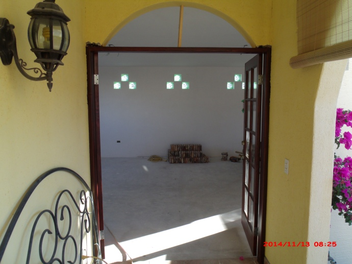 Entry from veranda