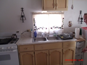 Kitchen fully equipped with modern appliances as well as with an old style Mexican stove