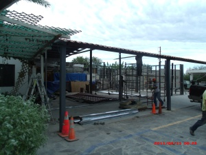 Steel Frame is UP!