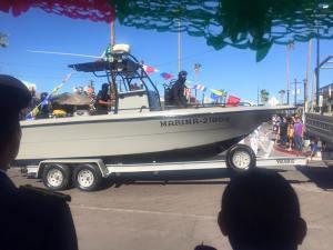Navy patrol boat