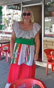 My new dress for the holiday