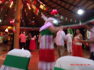 Julia dancing