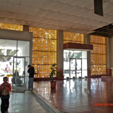 Inside the Bus Station Chapala MX