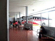 Inside Bus Station
